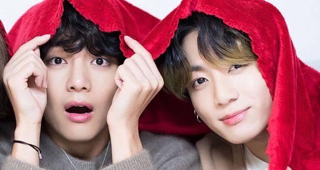 Chú thích ảnhBTS, Jungkook, V, BTS 2021, BTS Butter, BTS tin tức, BTS Good Morning America, BTS live, BTS anh em sinh đôi, BTS hài hước, BTS Jungkook, BTS V, Vkook