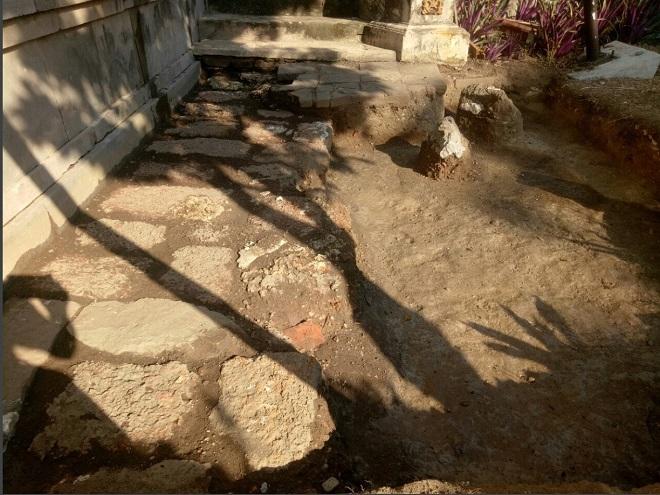 Điện Thái Hòa, hệ thống đá ong, Thừa Thiên - Huế, Hòang cung triều Nguyễn, khai quật khảo cổ