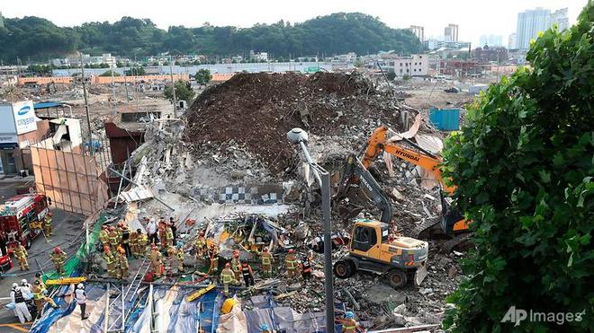 Hàn Quốc, sập nhà, sập nhà cao tầng