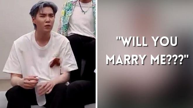 5 phản ứng 'khó đỡ' của BTS khi được ARMY cầu hôn