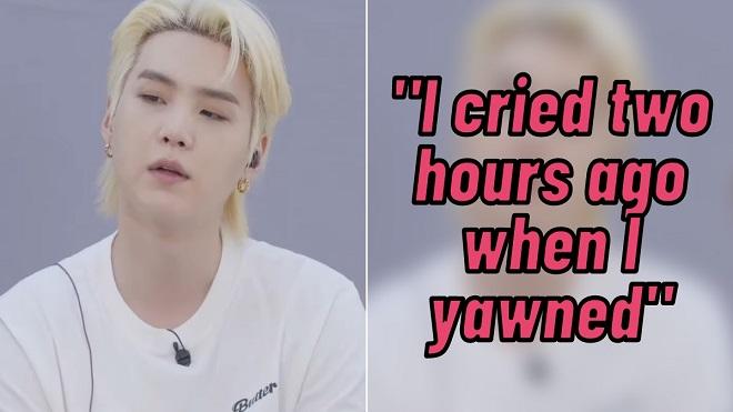 BTS tiết lộ lý do về lần gần nhất mình rơi nước mắt
