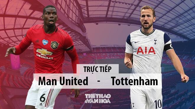 Trực tiếp bóng đá. MU vs Tottenham. Trực tiếp bóng đá Ngoại hạng Anh. K+PM