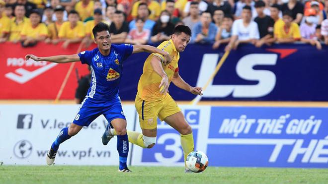 Trực tiếp bóng đá. Hải Phòng vs Thanh Hóa. Trực tiếp cuộc đua trụ hạng V-League