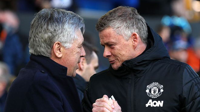 Trực tiếp bóng đá Everton vs MU. K+PM trực tiếp bóng đá Ngoại hạng Anh