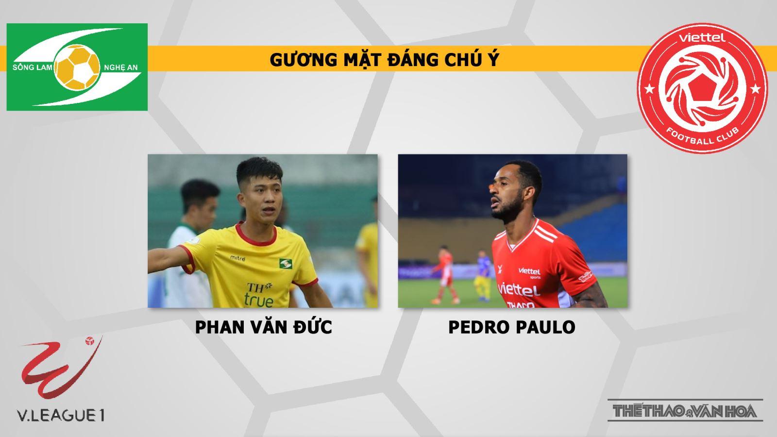 Trực tiếp bóng đá hôm nay: SLNA vs Viettel. BĐTV. VTV6. Trực tiếp bóng đá SLNA