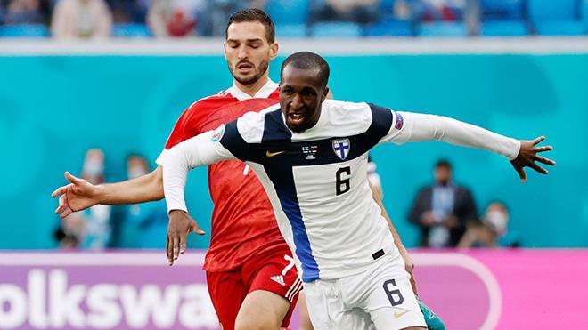 Phần Lan 0-1 Nga: Tuyển Nga có chiến thắng đầu tiên tại EURO 2021