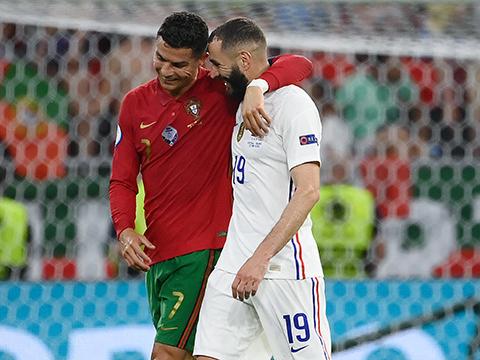 Bồ Đào Nha 2-2 Pháp: Ronaldo và Benzema lập cú đúp, Pháp cùng Bồ Đào Nha đi tiếp