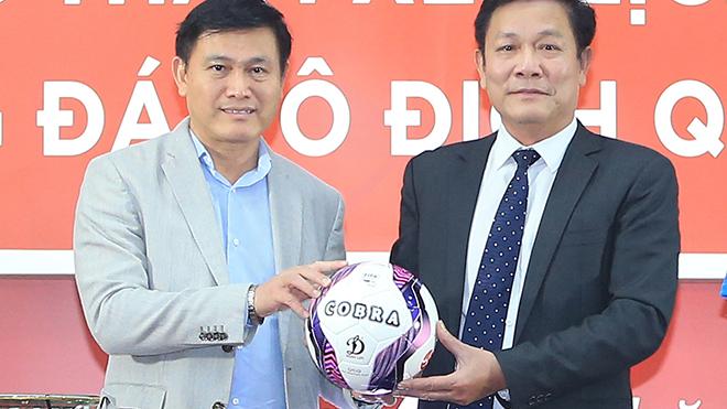 V League 2021 sẽ có bóng thi đấu mới