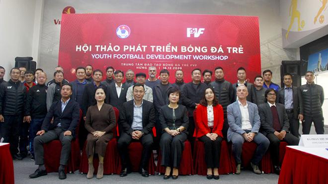 Bóng đá Việt Nam củng cố nền móng đào tạo trẻ