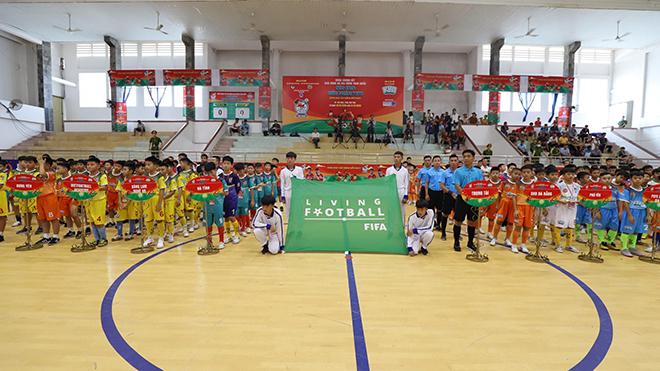 Khai mạc VCK giải BĐ Nhi đồng toàn quốc 2020: Chủ nhà Phú Yên thắng đậm