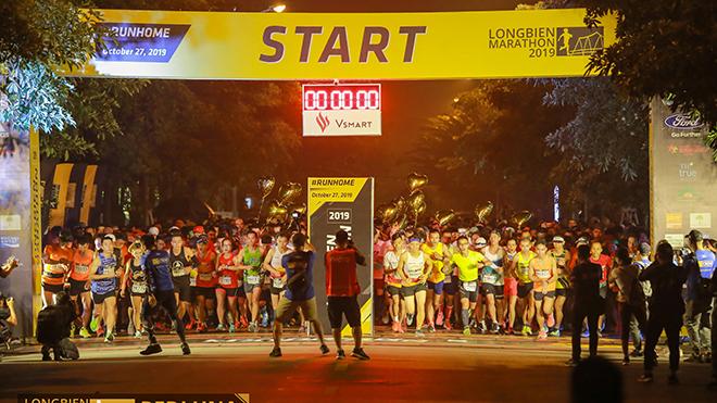 Longbien Marathon 2020 thu hút số lượng VĐV full marathon đông kỷ lục