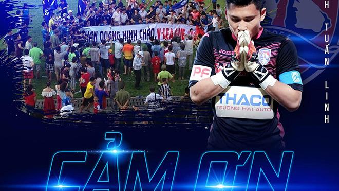 CĐV Than Quảng Ninh xót xa khi đội trưởng Huỳnh Tuấn Linh ra đi