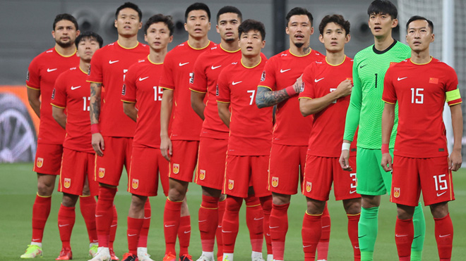 Tuyển Trung Quốc chốt sân nhà cho trận gặp tuyển Việt Nam