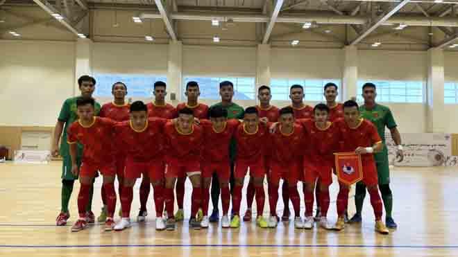 Tuyển futsal Việt Nam vượt qua Iraq với tỷ số 2-1