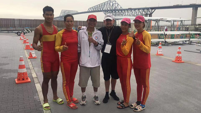 Rowing Việt Nam giành vé tham dự Olympic 2020
