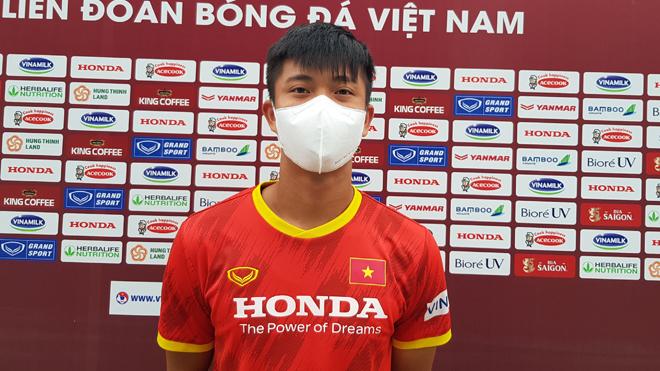 Phan Văn Đức tiết lộ mục tiêu của tuyển Việt Nam ở Saudi Arabia