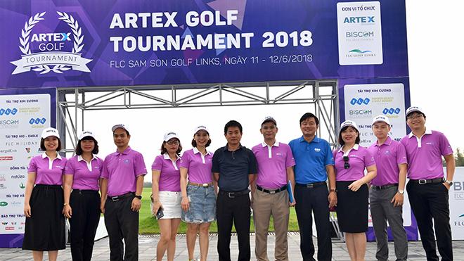 Khai mạc Giải Artex Golf Tournament 2018