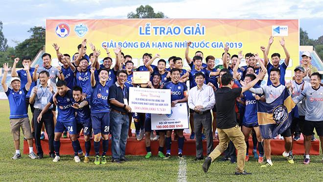 Giải hạng Nhì QG 2019: Bà Rịa Vũng Tàu đoạt vé thăng hạng