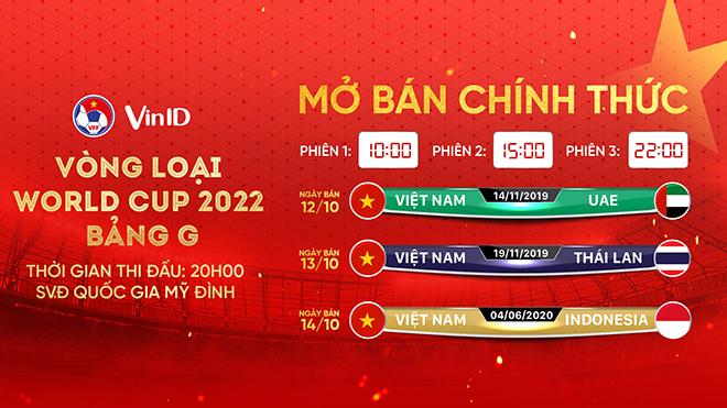 Hoãn trận Việt Nam-Indonesia: VFF khuyên CĐV giữ vé