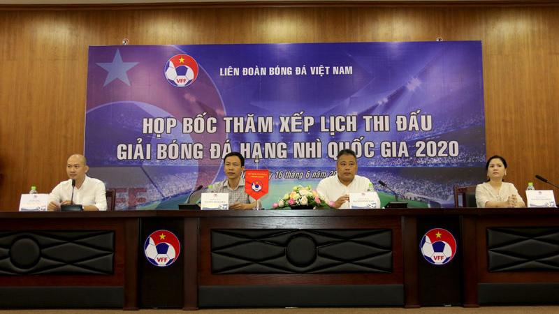 Giải hạng Nhì QG 2020 tăng suất thăng hạng
