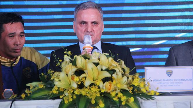 FLC Thanh Hóa bổ nhiệm cựu GĐKT LĐBĐ Romania làm HLV trưởng