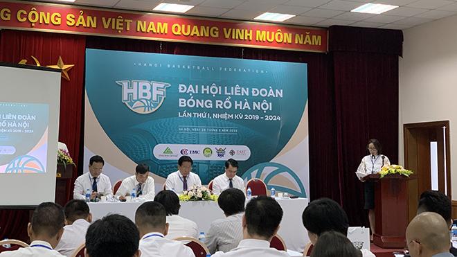 Ra mắt Liên đoàn bóng rổ Hà Nội