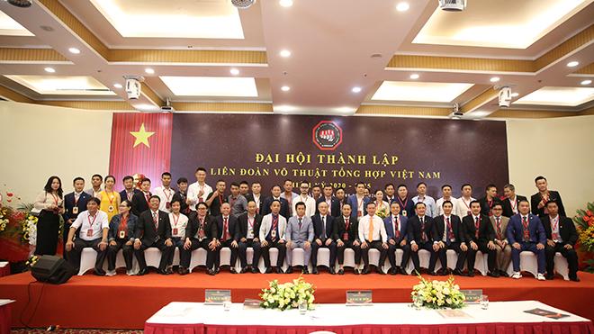 Liên đoàn Võ thuật tổng hợp Việt Nam chính thức ra mắt