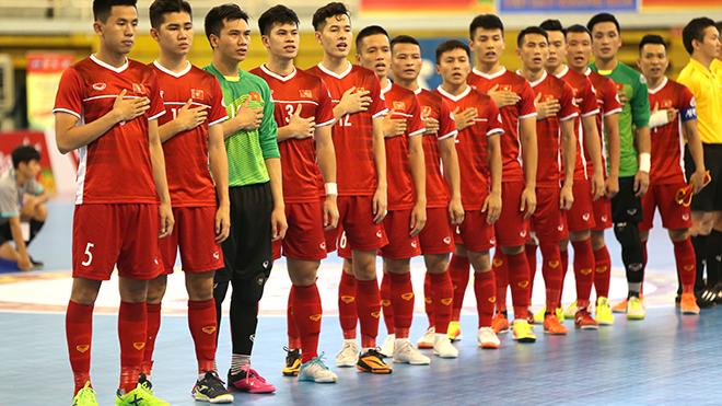 Tuyển futsal Việt Nam dễ thở ở VCK futsal châu Á 2020