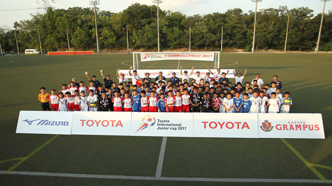 Những bài học tuyệt vời từ giải bóng đá trẻ Toyota khu vực sông Mekong 2017