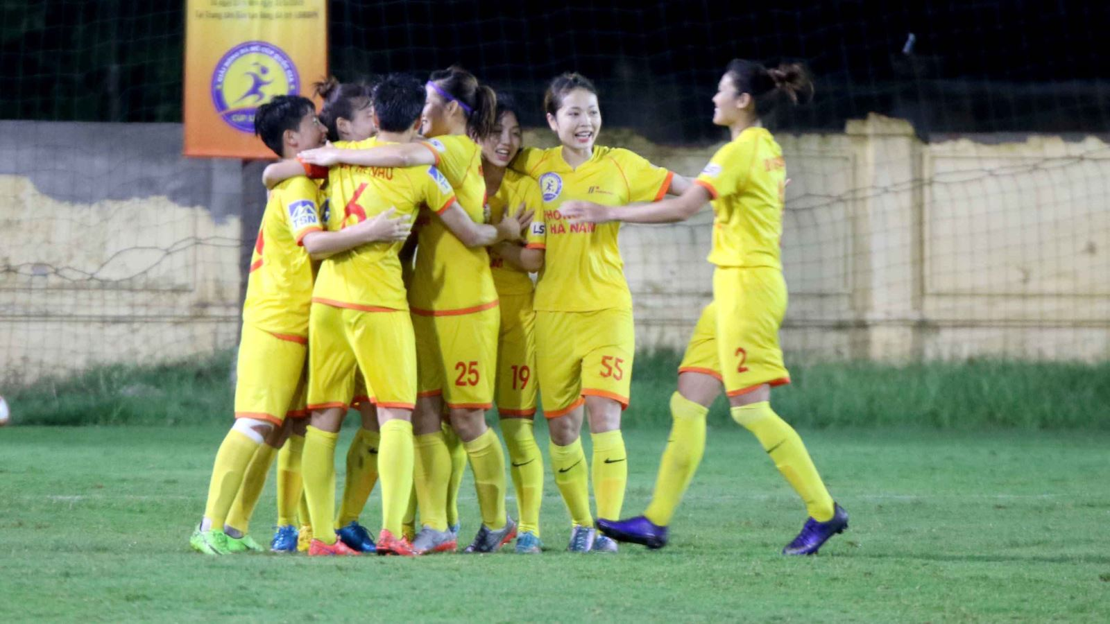 Phong Phú Hà Nam vô địch giải Nữ Cúp QG 2019