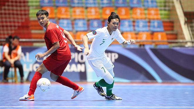 Tứ kết U20 futsal châu Á 2019: Việt Nam dừng bước trước Indonesia