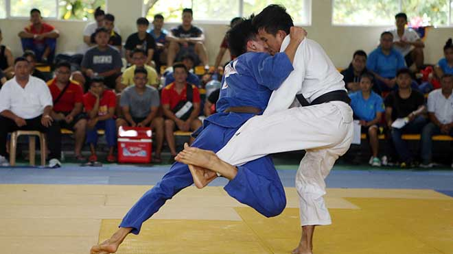 Hơn 200 VĐV tranh tài Giải Vô địch Judo toàn quốc năm 2019