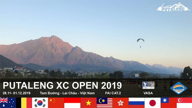 'PUTALENG XC OPEN 2019' – Giải thi đấu dù lượn quốc tế đầu tiên tại Việt Nam
