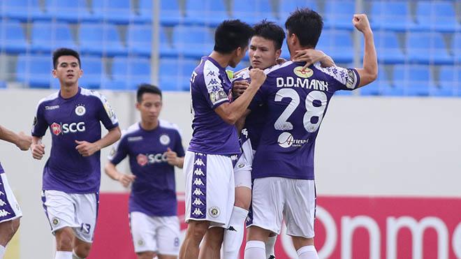 SHB Đà Nẵng 1-2 Hà Nội FC: Huỳnh Đức ca ngợi 'siêu phẩm' của Quang Hải
