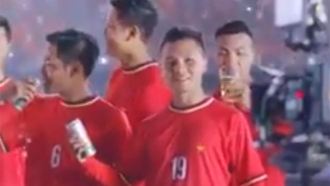 'VPF không liên quan vụ Quang Hải quảng cáo bia'