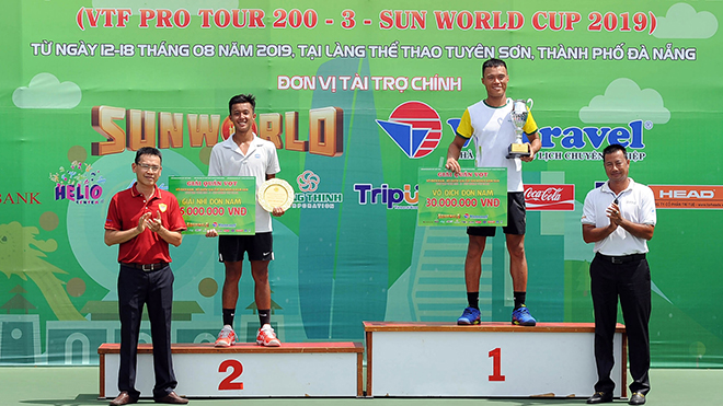 Bế mạc Giải Quần vợt Vô địch nam – nữ quốc gia năm 2019