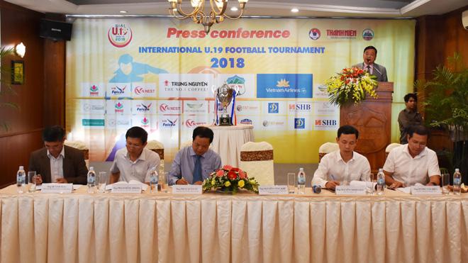 Gia Lai đăng cai tổ chức giải bóng đá U19 quốc tế 2018
