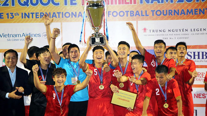 Giải U21 quốc tế 2019: U21 Việt Nam giữ Cúp ở lại sân nhà