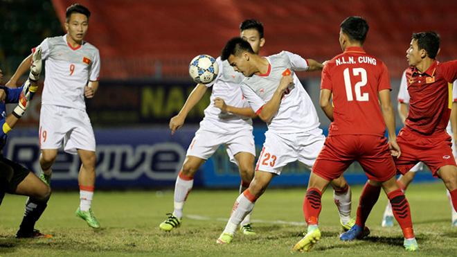 U21 Việt Nam đè bẹp U19 Việt Nam ở giải U21 quốc tế 2017