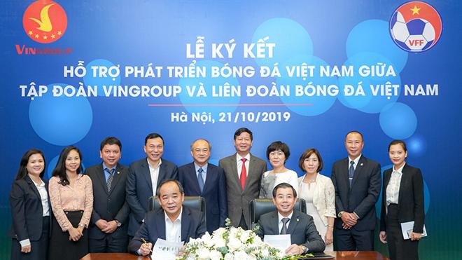 VFF ký thỏa thuận hợp tác chiến lược với Vingroup