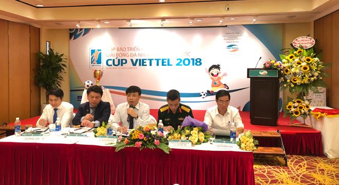 33 đội bóng dự giải BĐ Nhi đồng toàn quốc 2018