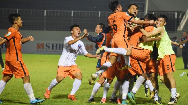 Tuyển thủ U23 và tân binh tỏa sáng, SHB Đà Nẵng thắng ngược Quảng Nam