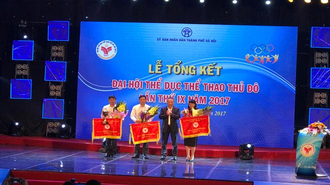 Tổng kết Đại hội TDTT Thủ đô lần thứ IX năm 2017
