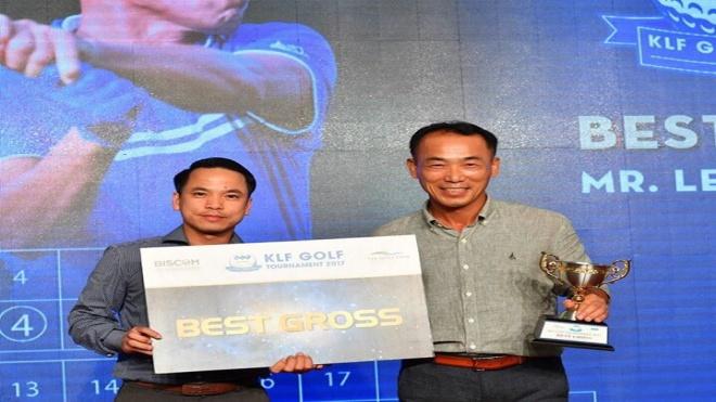 Golfer Lee Ahn Hwan vô địch Giải KLF Golf Tournament 2017