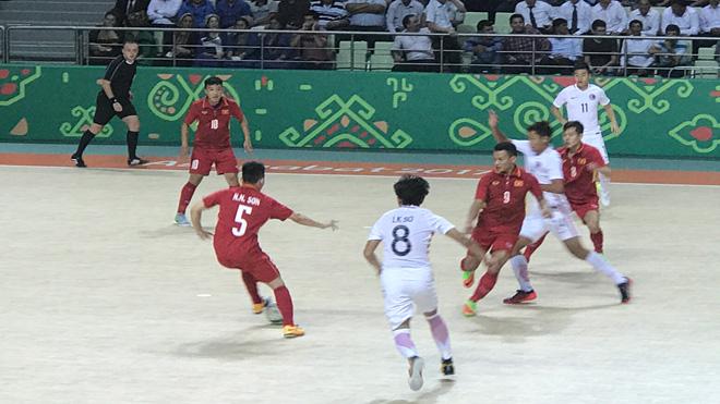 AIMAG 2017: Futsal Việt Nam gặp Afghanistan ở tứ kết