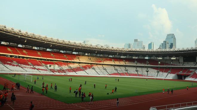 Khu tổ hợp thể thao Gelora Bung Karno sẵn sàng phục vụ ASIAD 18