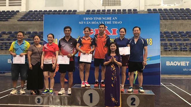 Nghệ An: Tổng kết, trao giải gia đình thể thao