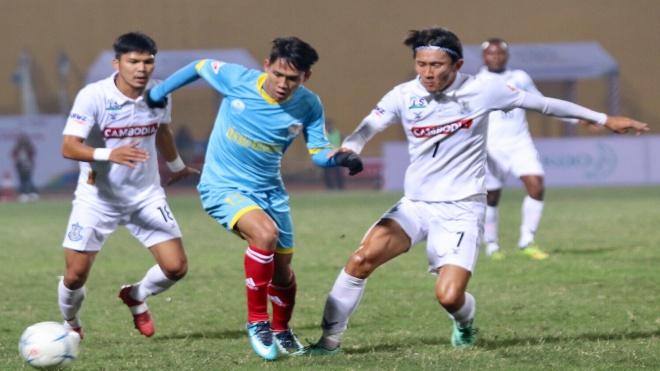 Toyota Mekong Cup 2017: S.Khánh Hoà bị Boeung Ket cầm hoà trên sân nhà