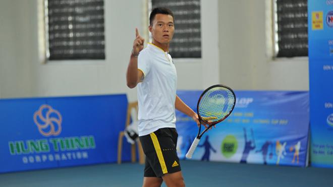 Minh Tuấn gặp Linh Giang tại trận chung kết tại Giải quần vợt Các cây vợt xuất sắc Việt Nam 2017