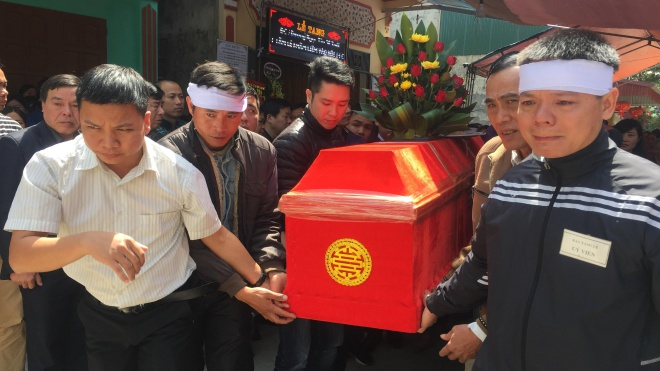 Nhói lòng cuộc tiễn biệt trọng tài Dương Ngọc Tân
